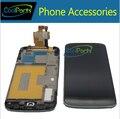 10 Шт./лот Для LG Optimus Google Nexus 4 E960 ЖК-Дисплей и Сенсорный Экран Digitizer С Рамкой Свободной DHL EMS