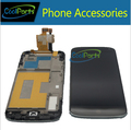 10 unids/lote para lg optimus google nexus 4 e960 Pantalla LCD y Pantalla Táctil Digitalizador Con Marco Envío Libre de DHL EMS