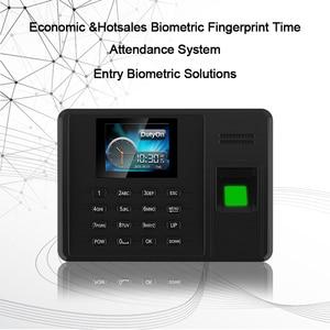 Image 5 - Eseye Attendance System Fingerprint TCPIP USB Password Office Time Clock Employee Recorder Device Biometric Time Attendance