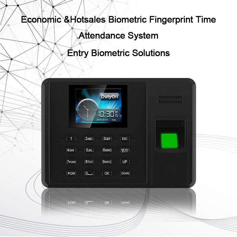 Eseye huellas dactilares SISTEMA DE ASISTENCIA TCPIP USB contraseña Oficina reloj de tiempo empleado grabador de biométricos de asistencia - 5