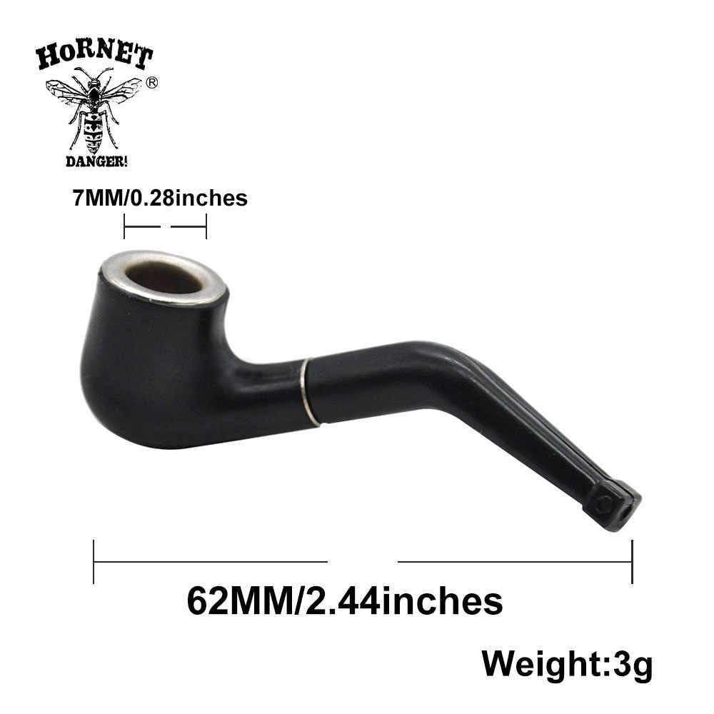 2 sztuk/partia czarny Mini delikatny fajka tytoniu