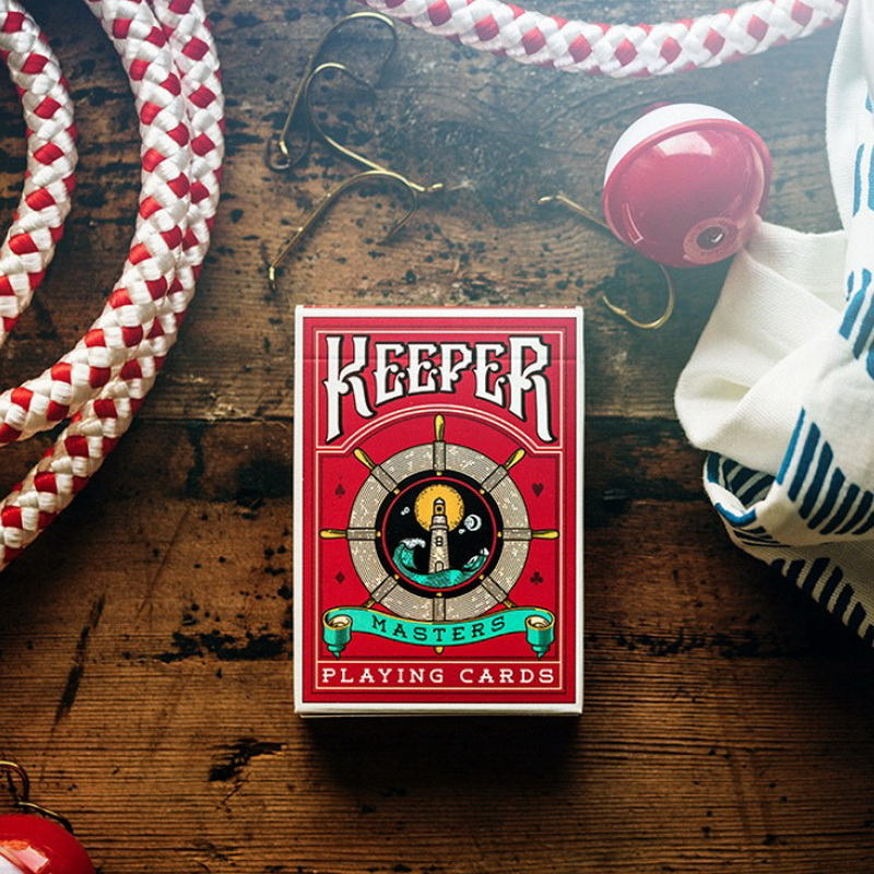 Best Seller Red Keepers Deck Marked Quality Deck Of Playing Cards ...