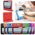 Высокое Качество Для iPad Air 2 Case Противоударный Пена Ручкой стенд Для Ipad 6 Case Крышка Дети Дети Защитный Чехол Case