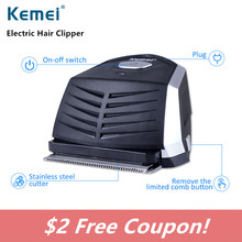 Kemei Waterproof Sharp Carbon Steel Blade Professional Hair Clipper Battery Rechargeable Head Trimmer Quick Charge N30C
