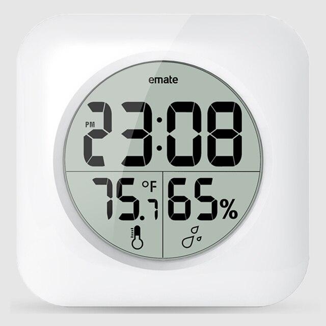 Kreative Digitale Badezimmer Wasserdichte Uhr Moderne Saug Uhr mit ...