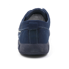 COSIDRAM Canvas Men Shoes Denim Lace-Up Men Casual Shoes New 2018 Plimsolls Breathable Male Footwear Spring Autumn RME-252