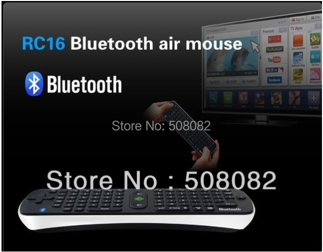 Bluetooth Remote Control Measy RC16 3 0 Wireless Keyboard fly Air Mouse  Handheld For Android Smart TV Box Desktop Laptop Mini PC-in Keyboards from