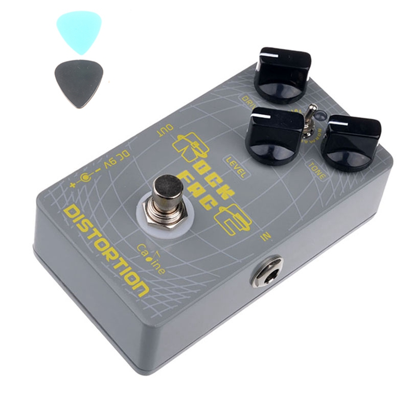 Caline CP-21 Distortion Guitar Effect Pedal Digital Delay CP21 Pedals Aluminum Alloy Housing Ture Bypass Guitar Accessories aroma adl 1 aluminum alloy housing true bypass delay electric guitar effect pedal for guitarists hot guitar accessories