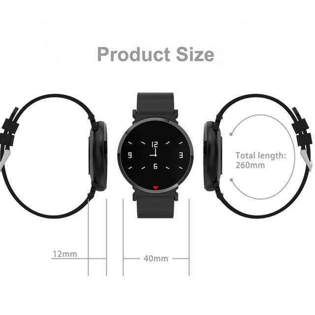 Heart Rate Monitor Smart Watch Men Color IPS Screen smartwatch Pedometer Calorie Fitness Watch Clock Blood Pressure Sport Watch