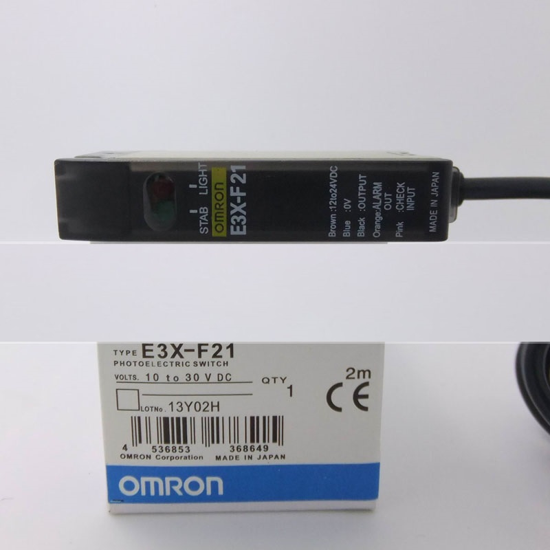 Photoelectric switch E3X-F21 fiber amplifier OMRON цена