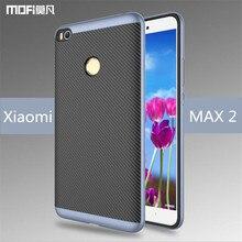 Xiao Mi Max 2 Case чехол Xiaomi Max 2 Case Mofi Original Xiaomi Mi Max 2 Back Case ПК ТПУ Capa Coque принципиально Carcasa hoesjes 6.44