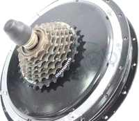 ifunmobi Hub Motor 36/48V/1000W/480RPM Electric bike Bicycle Motor  Brushless Gearless 7-Speed For 135mm Rear Wheel Ebike