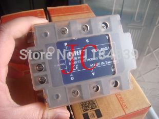 Three phase Solid state relay TSR-80DA  80A  SSR  relay tsr 25da new and original fotek 3 phase solid state relay 3 phase solid state module 25a