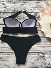 Brazilian Push Up Vintage wire padded Bikini