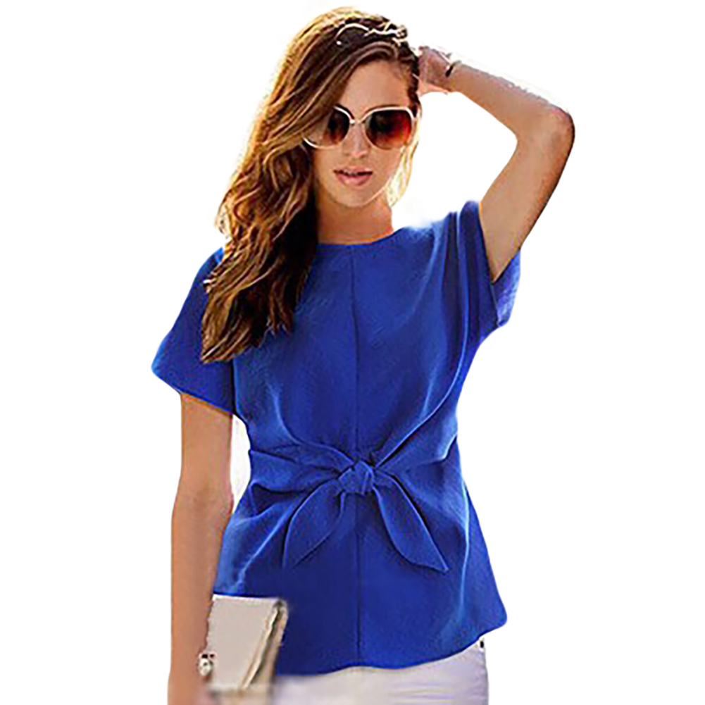 Popular Blue Chiffon Top-Buy Cheap Blue Chiffon Top lots from ...