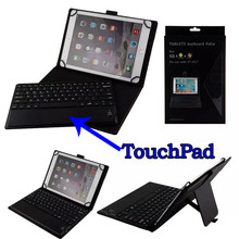 Universal Dechatable Bluetooth Keyboard & PU Leather Case Cover w/ Stand For all tablets 8.9''-10.6'' Android/Windows/IOS