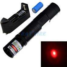 Promotion! 650nm 1000mW High power Red Laser pointer red beam laser Pen & 16340 Battery & Charger