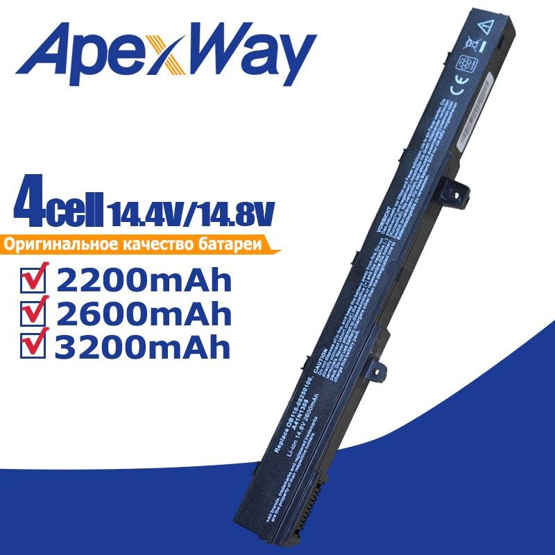 Laptop Battery For Asus X451 X551 X451C X451CA X551C X551CA A31N1319 0B110-00250100 A41N1308