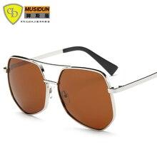 Fashion Polarized Sunglasses Women Vintage Sun glasses Female Glasses For Women big Frame Gafas Oculos Anti UVA UV400 88001
