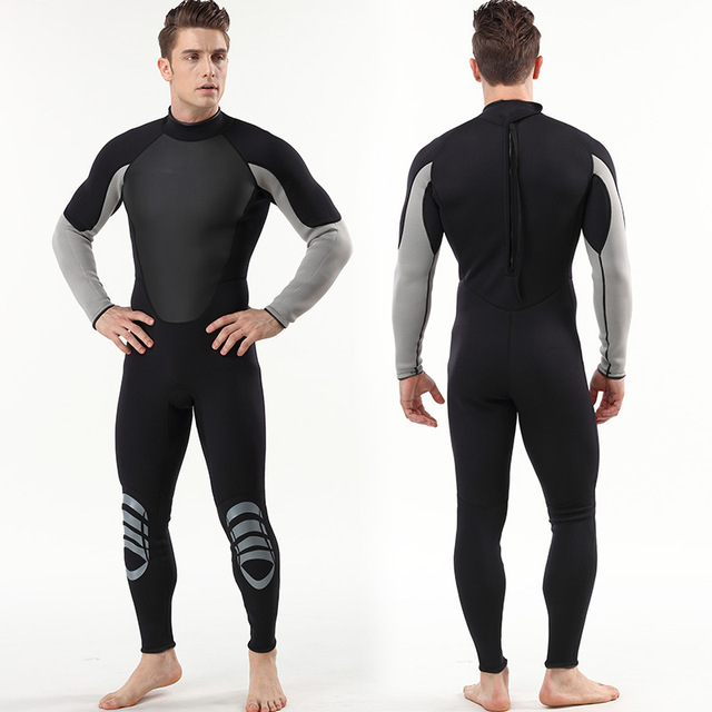 3mm Neoprene Wetsuit Surf Triathlon Scuba Diving Equipment Spearfishing Suit Neopreno Pesca Submarina Plus S-XXL
