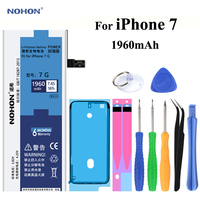 Original NOHON Battery For Apple IPhone 7 4 7 Inch Real Capacity 1960mAh Replacement Mobile Phone
