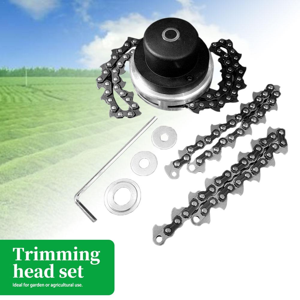 General Lawn Mower Chain 65MM Fine - Tuning Head Chain Mower Trimmer Cutter Garden Grass Brush Tool Spare Parts Cutter Lawn