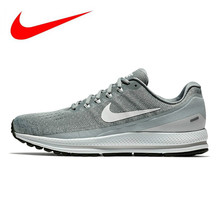 78253abff11e Nike Air Zoom Vomero 13 Men s Running Shoes Light Gray Breathable  Lightweight Sports