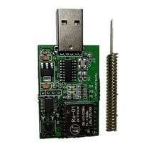 Mllse SX1278 Lora разработать и обучения доска/Lora широкополосный Беспроводной модуля 433 мГц 100 МВт Ra-01/STM32F030 /CH430 USB