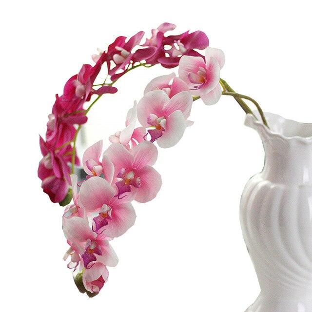 Heureux Vente chaude vente Fleur Simulation Papillon Orchidée ...