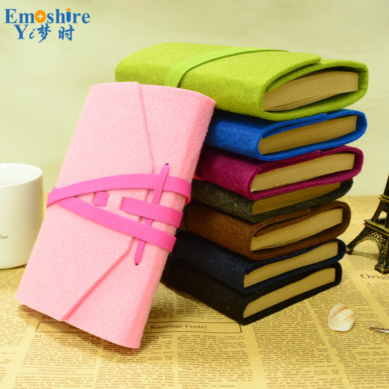 New Arrival Felt Notebook Retro Notebook Loose-leaf Creative Handmade Notebook Business Manual DIY Diary N091 new arrival turbowing 5 8ghz 3dbi 3 leaf