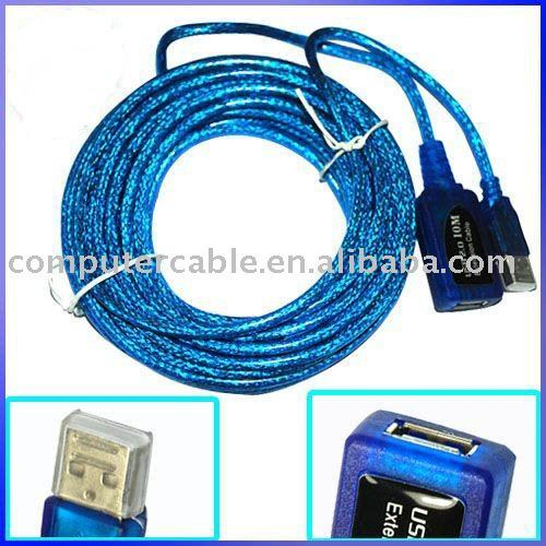 30ft USB 2.0 A Male to Female ACTIVE Extension Data Cable 10M