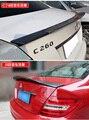 Подходит для Mercedes-Benz C W204C180C200C260C300 c63AMG AMG C74 Renntech модифицированное заднее крыло из углеродного волокна с задним спойлером