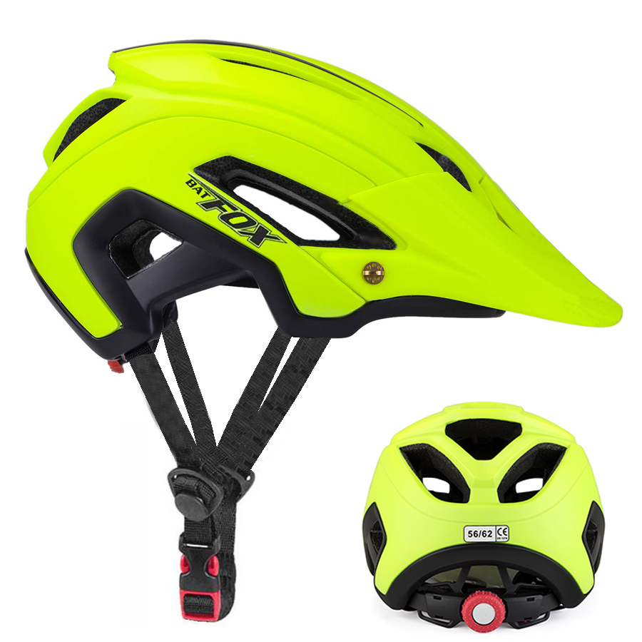 BATFOX Bike Helmet Mountain Bicycle Helmet Bike casco ciclismo Road MTB capacetes para ciclismo EPS Safety Riding cycling helmet(China)