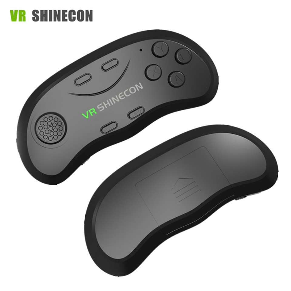 New Original VR Shinecon Bluetooth Remote Controller Wireless Gamepads Mouse Selfie Shutter 3D Game for Smartphone Tablet TV BOX (13)