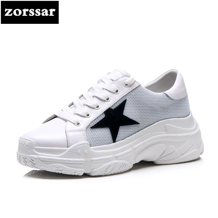 {Zorssar} Leisure flats women Travel Shoes Comfortable Flat platform Fashion Genuine cow Leather Casual women sneakers shoes vicamelia 2017 fashion women casual shoes grey appliques women flat shoes comfortable women sneakers female footwear 067