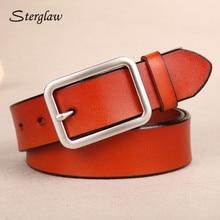 Casual Strap male men genuine leather belt vintage 2017 high quality women belts with jeans female belt cinturones hombre I009