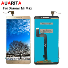 цены на For XiaoMi MI MAX LCD Display+Touch Screen Screen Digitizer Assembly Replacement For XiaoMi MAX Cell Phone+Tools High Quality  в интернет-магазинах