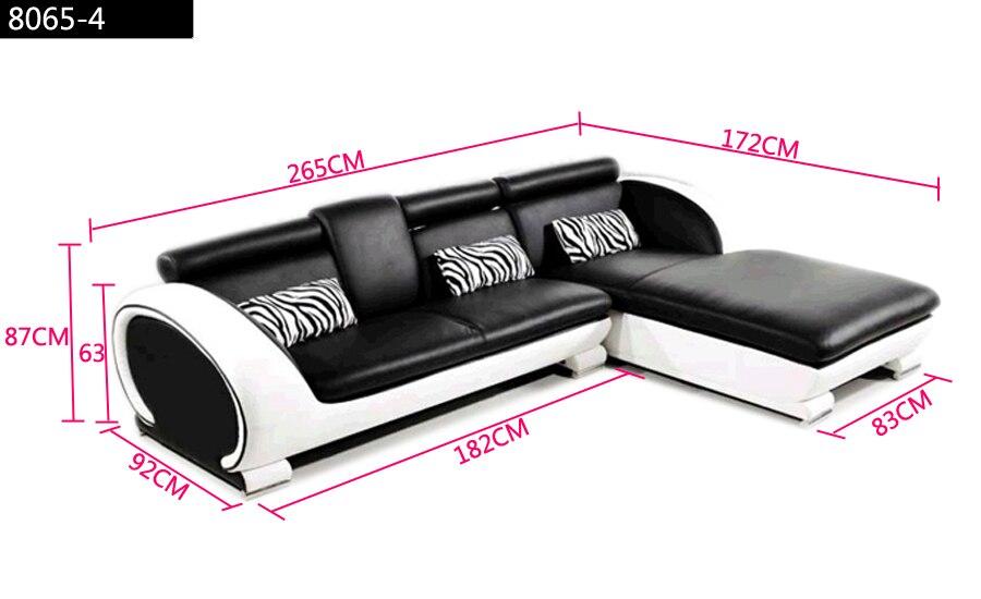negozio online moderno divano design piccolo a forma di l divano ... - Divano Set Piccolo Angolo