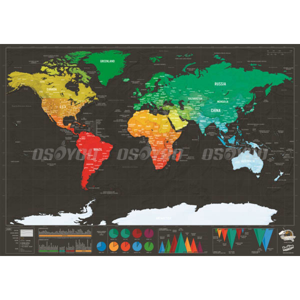 Scratch off map of the world timekeeperwatches scratch off map updated publicscrutiny Images