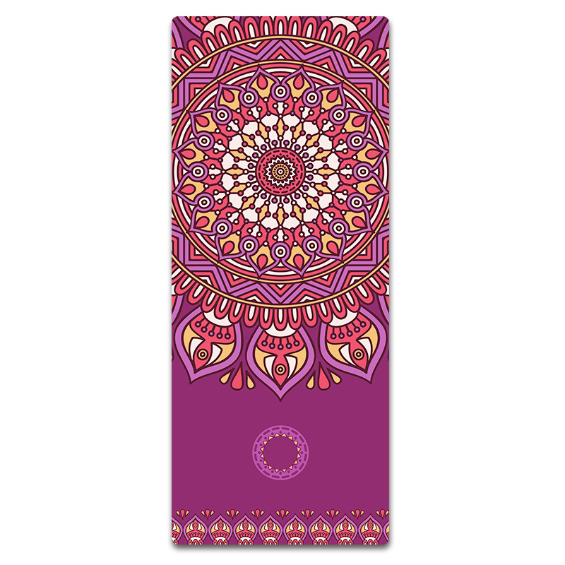 Free Shipping Heat Transfer Printing High Quality Natural Rubber Yoga Mat With Soft Surface Rubber Yoga Mat Yoga Mats Aliexpress