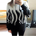 sweatshirt women cotton Women Long Sleeve Hoodie Sweatshirt Casual Hooded Coat Pullover