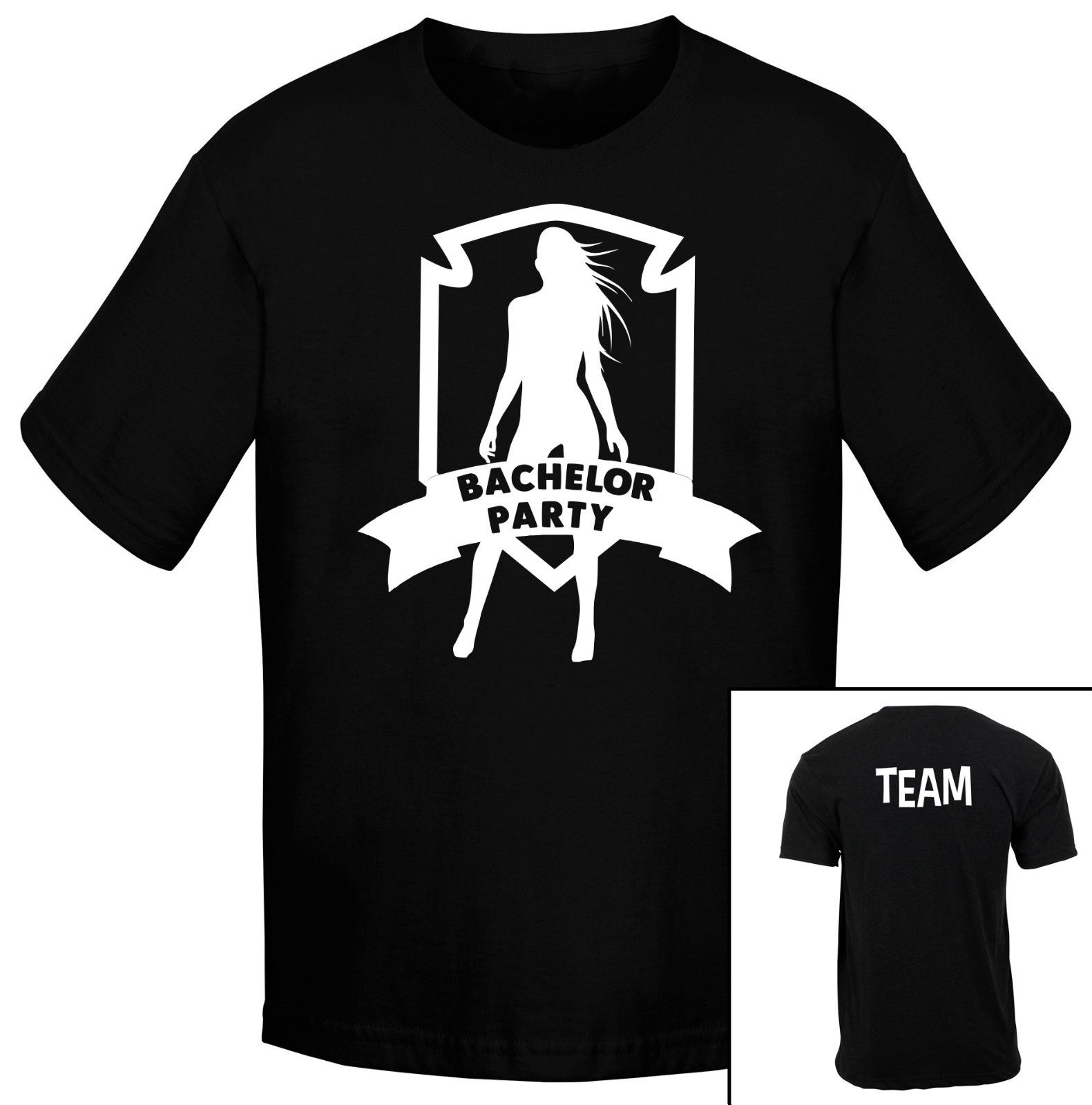 online store e103f a2cda US $11.99 40% OFF|T SHIRT BACHELOR PARTY TEAM GROOM WEDDING MAGLIA UOMO  SHIRT JERSEY MAN NERA Cartoon t shirt men Unisex New Fashion tshirt-in ...