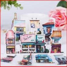 10 pcs shop vintage personalized scrapbook Stickers scrapbooking material sticker happy planner decoration craft