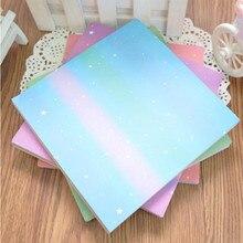 """70 шт., новая квадратная бумага для оригами 15*15 см, серия """"звезда"""", узор """"сделай сам"""", детская бумага, складные поделки, скрапбукинг, Декор, кран, бумажный узор"""