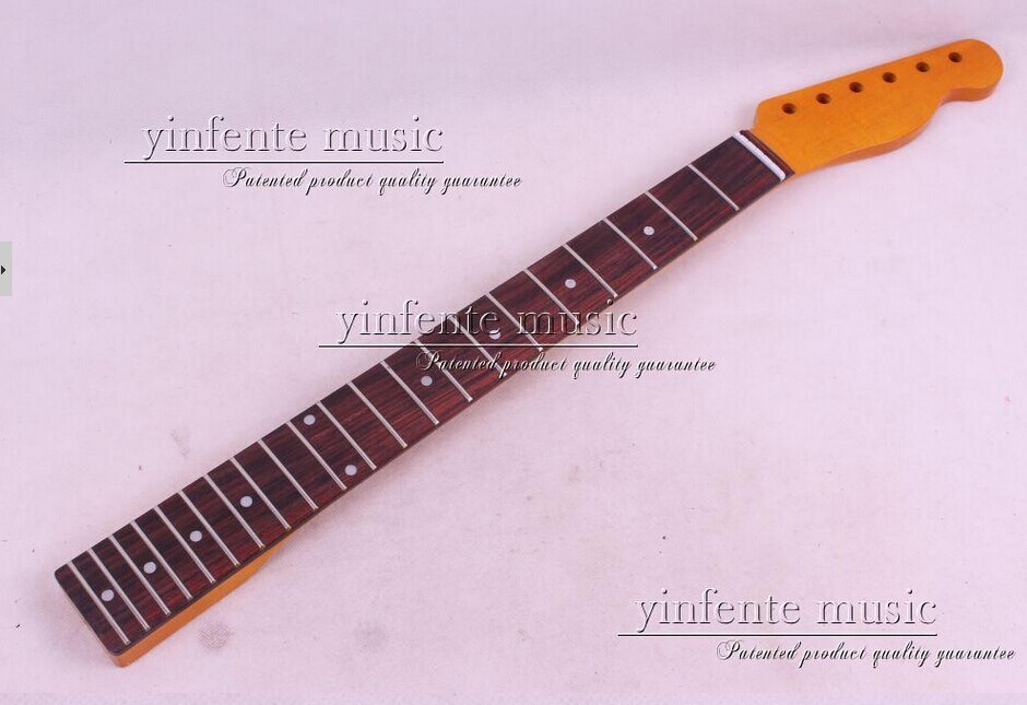 one pcs electric guitar neck high quality mahogany with rosewood fingerboard black color 24 frets holt on one electric guitar neck mahogany wood and rosewood fingerboard 171