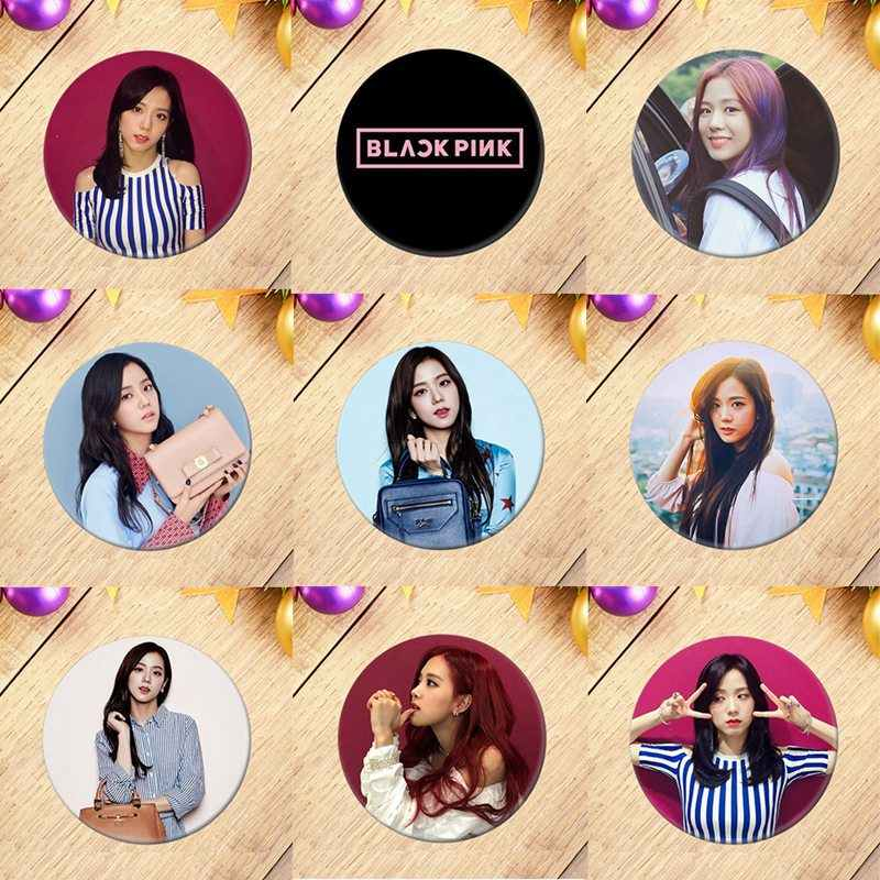 2019 New Korean KPOP BLACKPINK Album Brooch Pin Badge Accessories For Clothes Hat Backpack Decoration