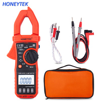 HONEYTEK Mini Digital multimeter ESR Meter Voltage Indicator Capacitor Tester True RMS With LCD Blacklitgt And Temperature