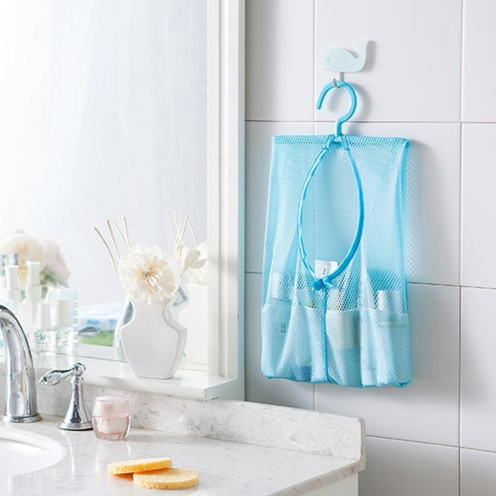 Home Living Accessories Storage Bag Bathroom Organizer Hanging Rack ...