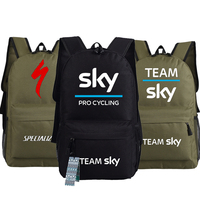Team Sky Pro Cycle Specialized Thuner Printed Bag Backpacks Unisex Canvas Student Shoulder Bags Boys Girls