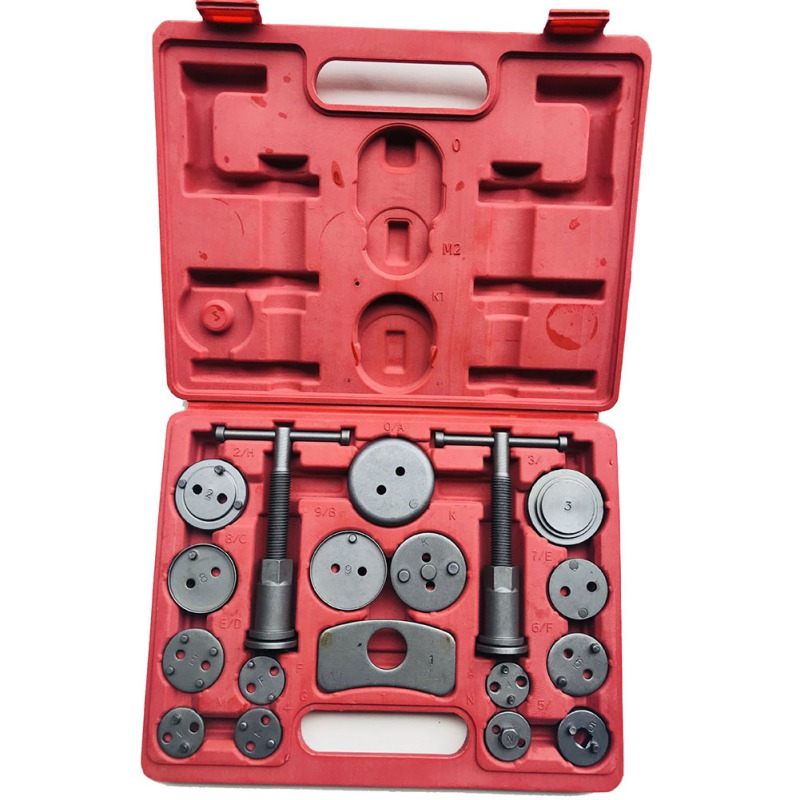 Universel Auto voiture précision disque frein étrier vent arrière trousse à outils 12 pièces plaquettes de frein pompe de frein Piston de frein voiture réparation trousse à outils